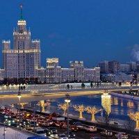 Московская высотка на Яузе :: Игорь