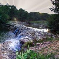 мини водопад - станица Баракаевская :: Ксения смирнова