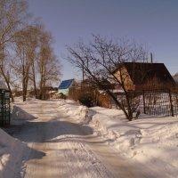 Дачный посёлок . Март . :: Мила Бовкун