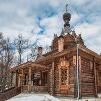 Деревянный храм святителя Тихона Задонского :: Nyusha .