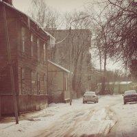 Старая улица. :: сергей лебедев