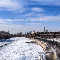 Москва-река. :: Владимир Безбородов