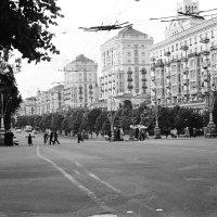 Киев, Крещатик. 1962 :: Олег Афанасьевич Сергеев