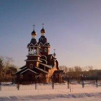 Храм Богоявление  Господне  в городе Бердск . :: Мила Бовкун