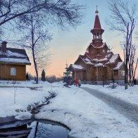 Храм в честь Успения Божией Матери :: Наталья Ильина