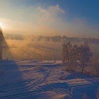 Закат над рекой :: Анатолий Иргл