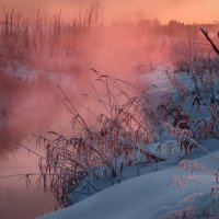 Россошка в морозном тумане :: Fuseboy