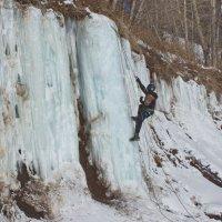 Подъём по ледопаду :: val-isaew2010 Валерий Исаев