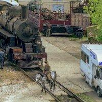 Американский паровоз Еа 2450 по ленд-лизу. :: Игорь Олегович Кравченко