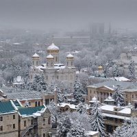 Снежный Пятигорск :: Ирина Шарапова