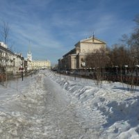 Ангарск весной :: Галина