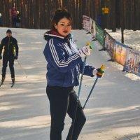Лыжница Каррина :: Сергей Черепанов