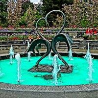 фонтан острова Майнау :: Александр Корчемный