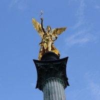 Ангел победы в Мюнхене :: Леся Сафронова