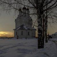 Закат в Тайнинском :: Александра