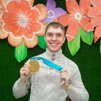 Олимпийская медаль 2018 Кирилла Капризова :: Юрий Лобачев