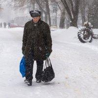 Снегопад :: Юрий Никульников