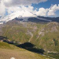 Приэльбрусье».Панорама Эльбруса 5642м :: Валерий Шурмиль