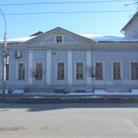 Дом мещан Стародубских, где квартировал М.Е.Салтыков-Щедрин во время службы в Рязани 1867-1868 гг :: Tarka