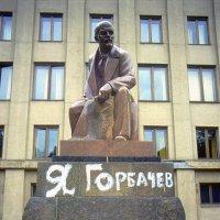 Москва, Советская площадь, август 1991 года. :: Игорь Олегович Кравченко