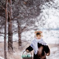 """за подснежниками"" :: Larisa Filatova"