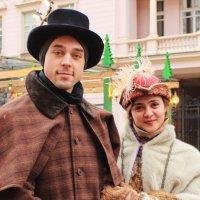 зимние подмостки Москвы :: Елена Фёдорова