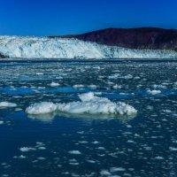 не верится: ширина фронта ледника: 6 км :: Георгий
