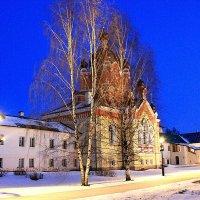 Вечер в монастырь :: Сергей Кочнев