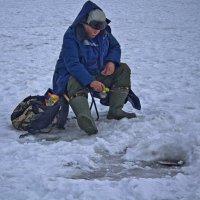Рыбалка требует терпения. :: Senior Веселков Петр