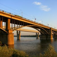 Мост через Обь :: Марина Таврова