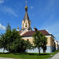 Храм во имя св.апостола Андрея Первозванного :: Татьяна Лютаева