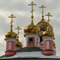 Купола Стретенской церкви. :: Анатолий. Chesnavik.