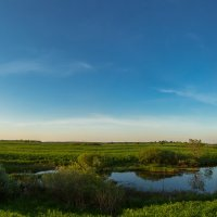 Летний панорамный пейзаж :: Александр Синдерёв