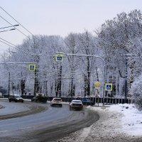 Мартовский снег :: Виктор Никитенко
