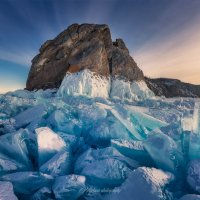 Голубые льды Байкала :: Алексей Mukusu
