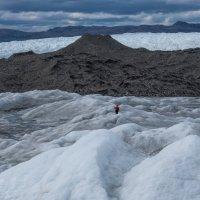 пешком по леднику Айс Пойнт (Ice Point 666) :: Георгий
