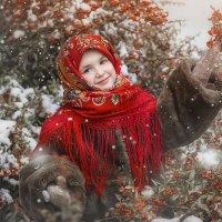 Зима Алина :: Эльвира Запорощенко