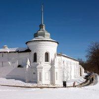 Богоявленская башня Спасо-Преображенского монастыря :: Андрей Шаронов