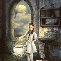 Домашняя работа по искусству магии. :: Ирина Полунина