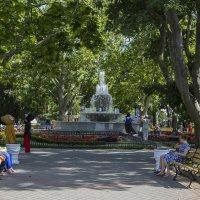 Севастополь. В парке у фонтана,на приморском бульваре. :: Анатолий Грачев