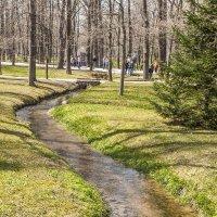 Весенняя прогулка в Петергофе. Журчат ручьи, слепят лучи :: bajguz igor