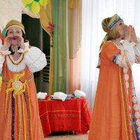 Жаворонки.Фольклорный спектакль в детсаду :: Ната57 Наталья Мамедова