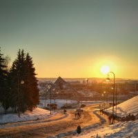 Городские закаты :: Александр Шишин