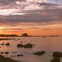 Закат над заливом. :: VasiLina *