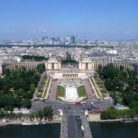 Париж с высоты. :: tatiana