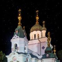 Форосская церковь. Ночь.Крым. :: Анна Пугач