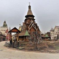 Деревянный храм Св. Николая в Измайлово :: Вячеслав Маслов