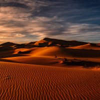 """Марсианское"" утро...Сахарские дюны близ Мерзуги.Марокко! :: Александр Вивчарик"