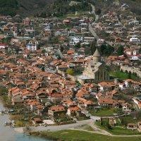 Монастырь Джвари....Мцхета-Грузия...река Кура и Арагви :: Юрий Яньков