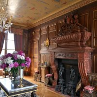 интерьер замка Анет - Дианы де Пуатье (Diane de Poitiers) :: Георгий А